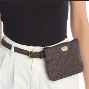 Micheal Kors Wallet Belt